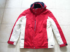 Gaastra Jacket / Coat SIZE L * Great Condition RED / WHITE *