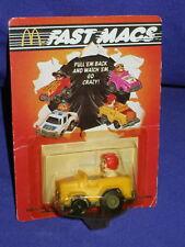 Vintage Ronald McDonald Fast Macs Car 1985 MOC