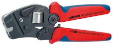 Knipex 97 53 09 Self-Adjusting Crimping Pliers for End Sleeves Ferrules (975309)