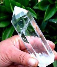 Belle colonne de cristal de quartz transparent blanccrystal column
