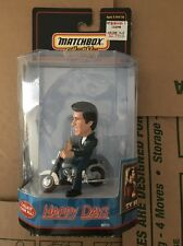 """1999 MATCHBOX COLLECTIBLES THE FONZ """"HAPPY DAYS"""" CHARACTER MOTORCYCLE NEW"""