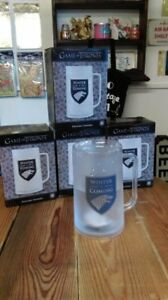 """Game Of Thrones Tall """"Winter Is Coming"""" Freezer Tankard Double Wall Liquid"""