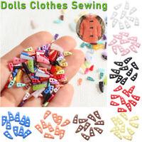 Knöpfe Puppen Kleidung Nähen DIY Herstellung von Schnallen Mini Horn Button