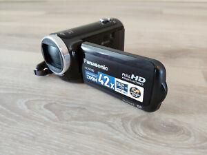Panasonic HC-V100 Full-HD Camcorder   schwarz   wie neu!   TOP Zustand!   OVP!