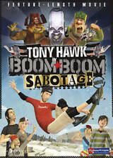Tony Hawk BOOM BOOM SABOTAGE ~ Aminated Skateboarding Feature Film UK DVD