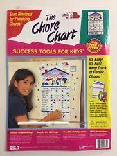 The Chore Chart ~ Dry Erase Marker & 11 x 14 Board with 106 Vinyl Stars Symbols