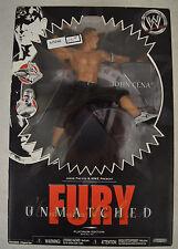 WWE Unmatched Fury John Cena Series 1 Action Figure Platinum Wrestling JAKKS