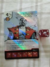 Dice Masters - Czar Colossus - Powering the State super rare card and die