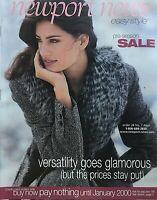 YAMILA DIAZ Winter 1999 NEWPORT NEWS Catalog HEIDI KLUM / ANNEMIEKE VAN DEN BERG