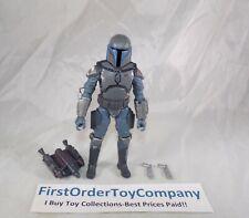 "Star Wars Black Series 6"" Inch Mandalorian Loyalist Loose Figure COMPLETE"