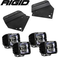 Rigid Radiance LED Fog Light w/ White Backlight for 10-14 Ford F150 Raptor SVT