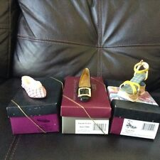 $ JUST THE RIGHT SHOE TRUFFLES PATENTLY PERFECT CUSTOM MADE LOT MINATURE