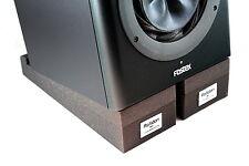 RoXdon RMP-1 Studio Broadcast Monitor Speaker Foam Isolation Pads x4 (2 per spk)