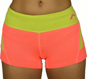 More Mile More-Tech Womens Boy Running Shorts - Pink