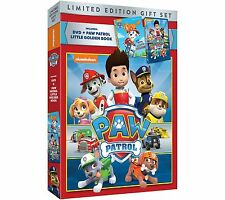 PAW Patrol: Children's Collection Limited Edition Gift Boxed DVD Set + Book NEW!