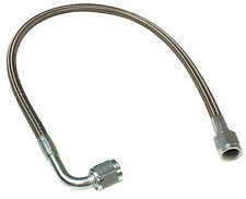 """Braided Stainless AN Brake Line 16"""" -4 Straight & 90 Ends #1314"""