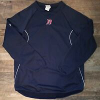 Detroit Tigers Majestic Authentic Thermal Base MLB Pullover Size M Medium