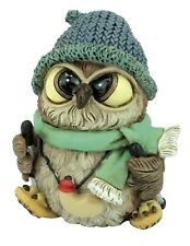 Trekking  Owl with Cap Collectable Ornaments