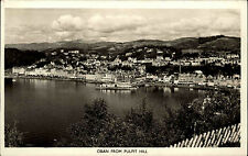 Oban Schottland Scotland 1958 Post Card General view from Pulpit Hill Totale