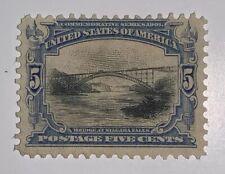 Travelstamps:1901Us Scott#297 mint 5cents Bridge at Niagara Falls mint, ng