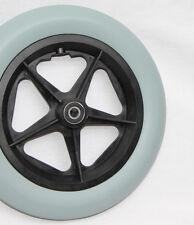 Rollstuhl Polyurethan Rad u. Achse 305 / 45 - 4, Reifen 12 1/2 x 2 1/4 zoll Rad