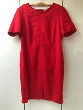 Robe rouge Andres International - Taille 44 (A)