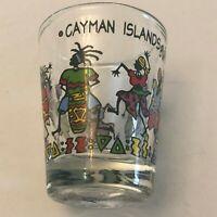 Cayman Islands BWI Dancers Drums Festival Shot Glass Shotglass