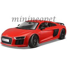MAISTO 36213 AUDI R8 V10 PLUS 1/18 DIECAST MODEL CAR ORANGE