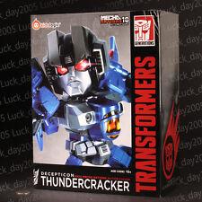 Kids Logic Transformers Mecha Nation Decepticon Thundercracker LED Figure