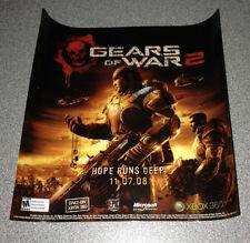 Gears of War 2 **B**     Window Cling    NEW    GOW2
