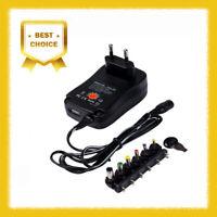 Chargeur Prise de Courant UE + Adaptateurs pour AC/DC 3v 4.5v 5v 6v 7.5v 9v 12v