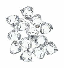 Acrylic Clear Ice Rock Diamond Crystals Treasure Gems for Table... Free Shipping