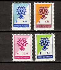 Paraguay World Refugee Year 1961 Stamps  # 619-622 MNH