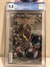 Dark Nights: The Batman Who Laughs #1 (2018) CGC 9.8 [Foil Cover]