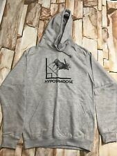 Hoodie Mens Grey Funny Math Size Small.