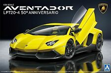 Aoshima 1/24 Super Car No.17 Lamborghini Aventador Lp720-4 50 Anibasario edition