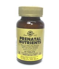 Solgar Prenatal Nutrients - 60 Tablets for Pregnant and Lactating Woman