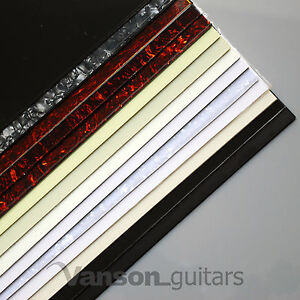 Vanson X LARGE Scratchplate Pickguard Material for Electric Guitars 435 x 290mm