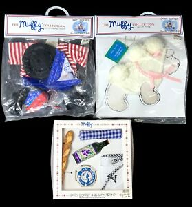 """Muffy Collection: """"Paris Bistrot"""" Food Set, Muffy Signer Outfit, Lulu Outfit"""