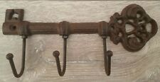 NEW Vintage Antique Style Key Hook Rustic Cast Iron Holder Wall Hanging Rack UK