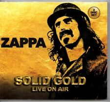"FRANK ZAPPA - ""SOLID GOLD LIVE ON AIR""   (NEW & SEALED IMPORT 2 CD LIVE SET)"
