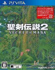 Secret of Mana PS Vita square Enix Sony PlayStation Vita From Japan