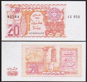 20 DINARS 1983 ALGERIE / ALGERIA [NEUF / UNC] P133