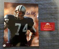 Bob Lilly Signed 8x10, Dallas Cowboys, COA, Autographed
