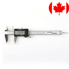 6inch 150mm LCD Digital Electronic Carbon Fiber Vernier Caliper Gauge Micrometer