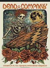 Dead And Company Red Rocks 10/19-20/21 Print Poster Morrison Co 2021 Deas Aa