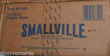 Smallville Season 5 inkworks Sealed Case 10 Box Lot Auto Costume Trading Cards
