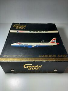 1:200 Gemini A320 British Airways