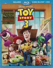 Toy Story 3 (Blu-ray/DVD, 2011, 3-Disc Set)