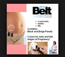 Maternity Belly Belt Pregnancy Panel Beige 4Skirt Pants - Slide Kit